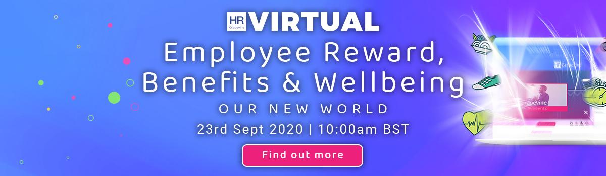 Employee Reward, Benefits & Wellbeing   HR Grapevine Virtual Event