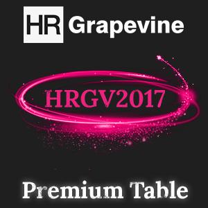 HRGV2017 Premium Table - 9 delegates