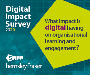 What impact is digital having on organisational learning and engagement?